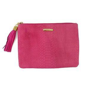 GiGi New York All In One Bag Clutch Hot Pink